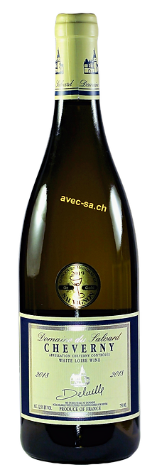 Cheverny Blanc, Domaine du Salvard, Famille Delaille, 2019, AOC Cheverny