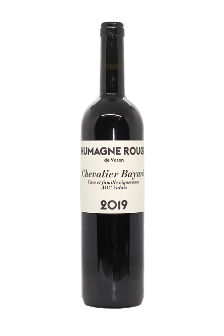 Humagne Rouge de Varen, Chevalier Bayard, 2019, AOC Valais