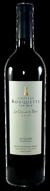 Le Clos de la Tour, Château Rouquette sur Mer, 2015, AOC La Clape