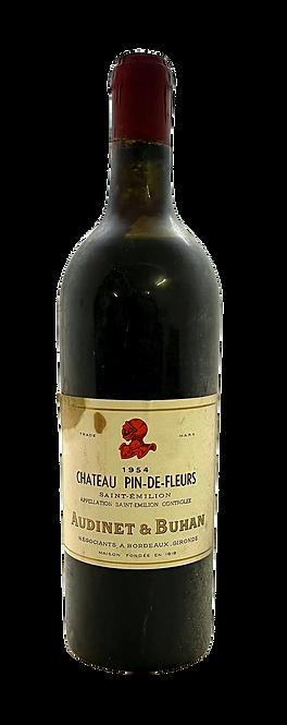 Château Pin-de-Fleurs, 1954, Appellation Saint-Emilion contrôlée