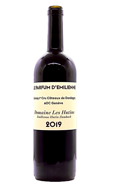 Le Parfum d'Emilienne, Domaine Les Hutins, 2019, AOC Dardagny 1er Cru