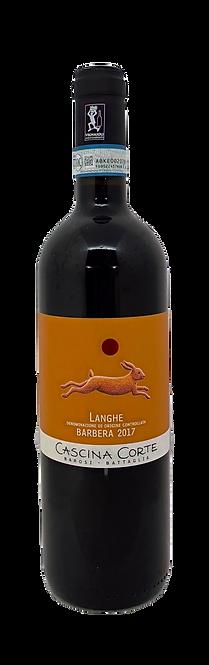 Langhe Barbera Bio, 2017, Cascina Corte, DOC Langhe