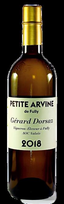 Petite Arvine de Fully, Gérard Dorsaz, 2018, AOC Valais