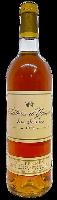 Château d'Yquem, 1976, Appellation Sauternes contrôlée, 1er Cru Classé Supérieur