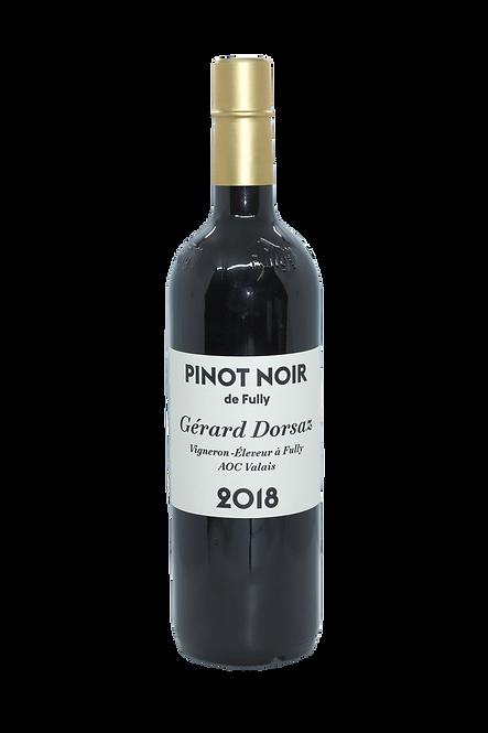 Pinot Noir de Fully, Gérard Dorsaz, 2018, AOC Valais