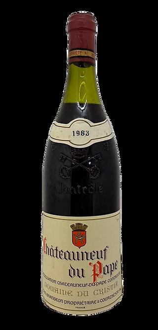 Domaine du Cristia, 1981, 75 cl, AOC Châteauneuf-du-Pape
