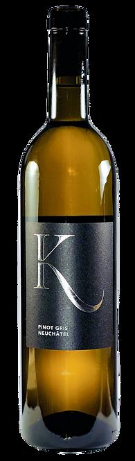 Pinot Gris, Vins Keller, 2018, AOC Neuchâtel