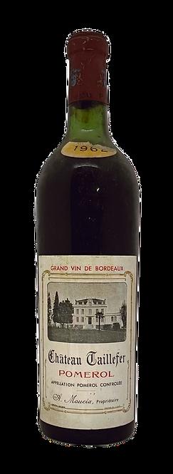 Château Taillefer, 1962, Appellation Pomerol contrôlée