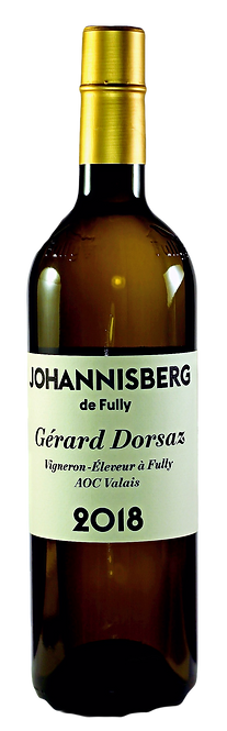 Johannisberg de Fully, Gérard Dorsaz, 2018, AOC Valais