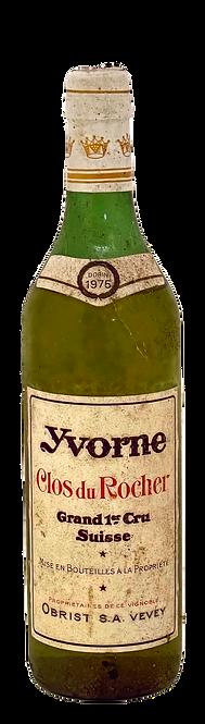 Yvorne Grand Cru Clos du Rocher - 1er cru - 1975