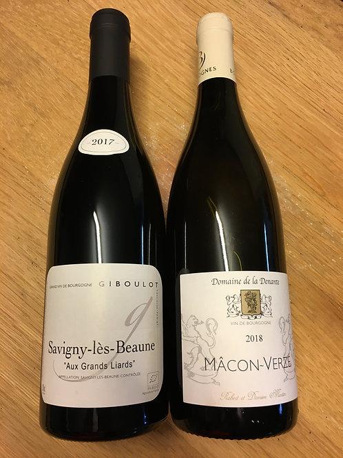 La Bourgogne en deux flacons