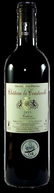 Grande Cuvée Prestige, Château La Coustarelle, 2015, 75 cl, AOC Cahors
