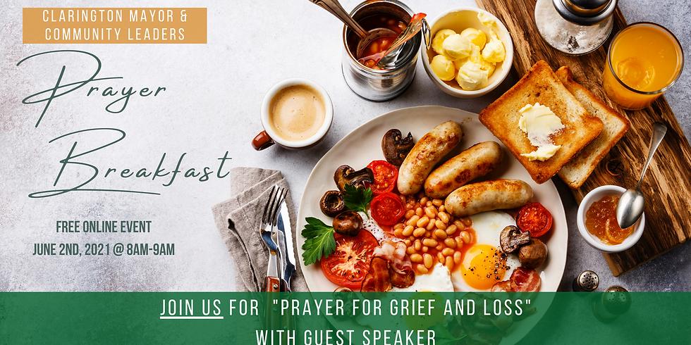 Clarington Mayor and Community Leaders Prayer Breakfast