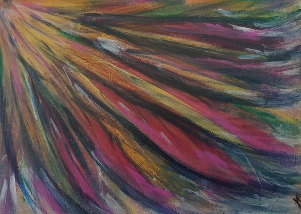 Phoenix by JROatts - Acrylic on art boar