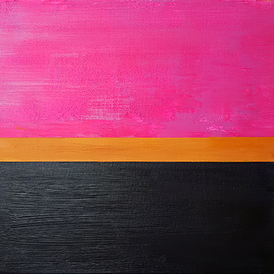 Hot Pink Sunset (40x40cm)
