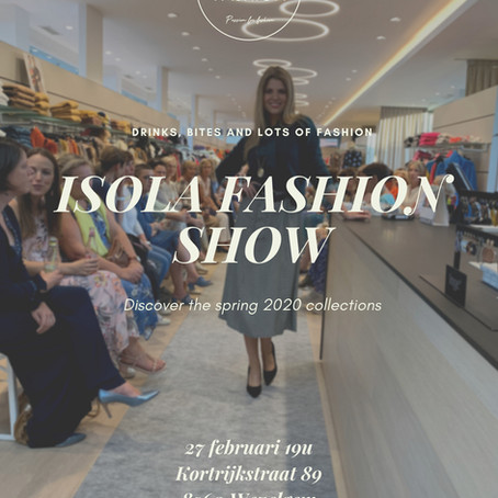 Isola Fashion Show - Spring '20