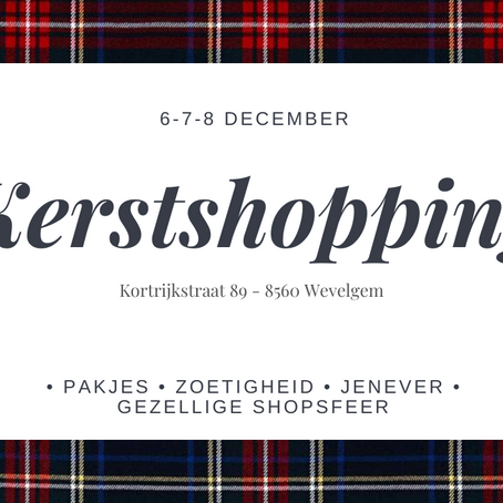 Kerstshopping @ Isola Fashion