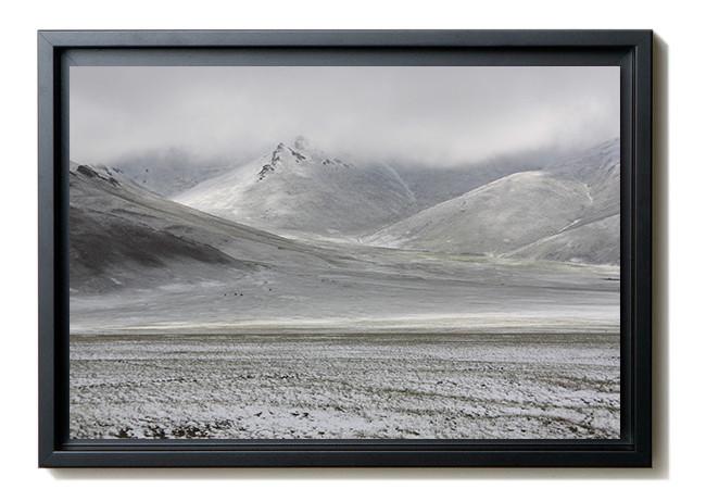Kirghizstan - Lever du jour sur les monts Tien Shan. 380 €