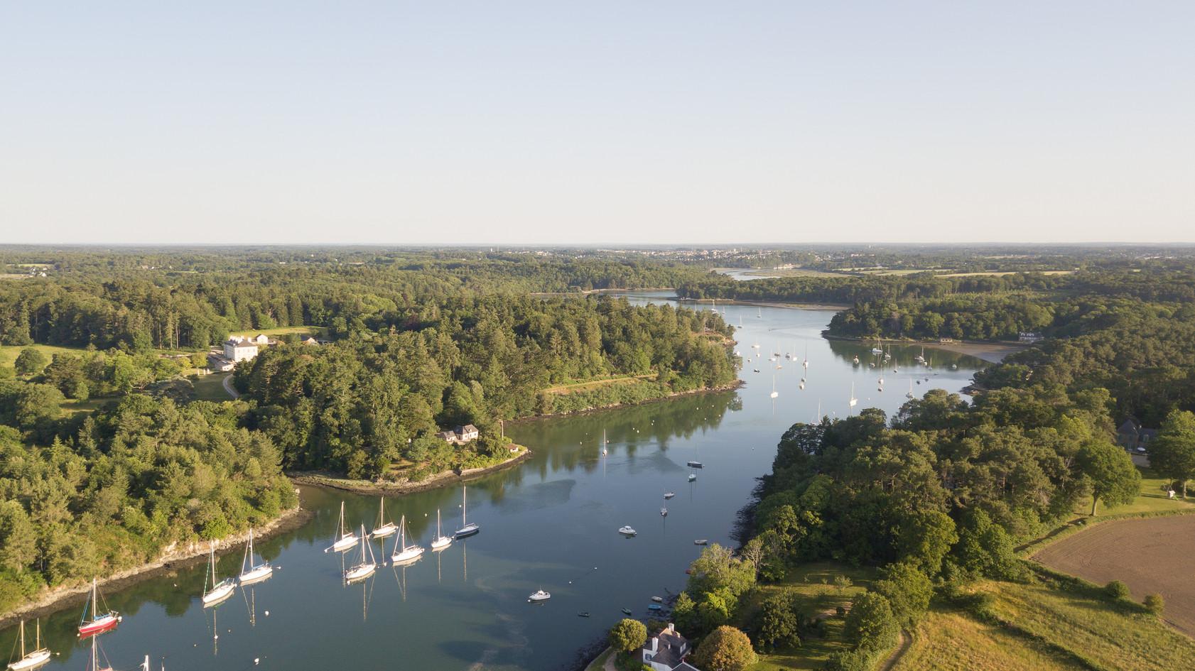 Rivière d'Auray Le Bono