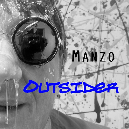 Manzo - Outsider (CD) with 12 page booklet in jewel case