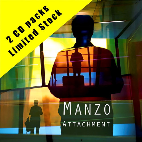Manzo - Attachment (CD) Limited Edition 2 disc pack