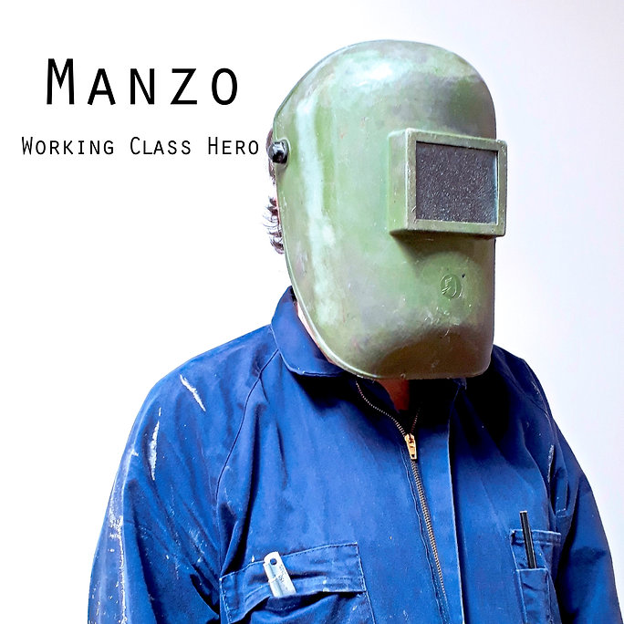 WORKING CLASS HERO SINGLE COVER GRAPHIC.