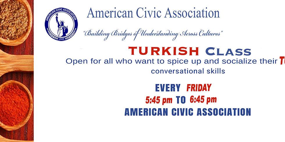 TURKISH Classes
