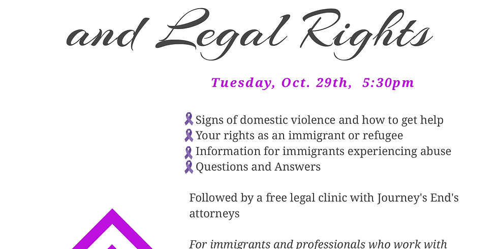 Immigration, Domestic Violence, and Legal Rights Workshop