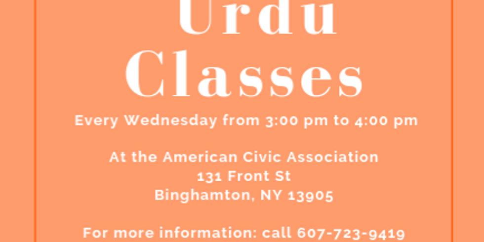 URDU Classes   (1)