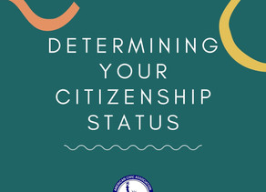 Determining Citizenship Status Quick Guide