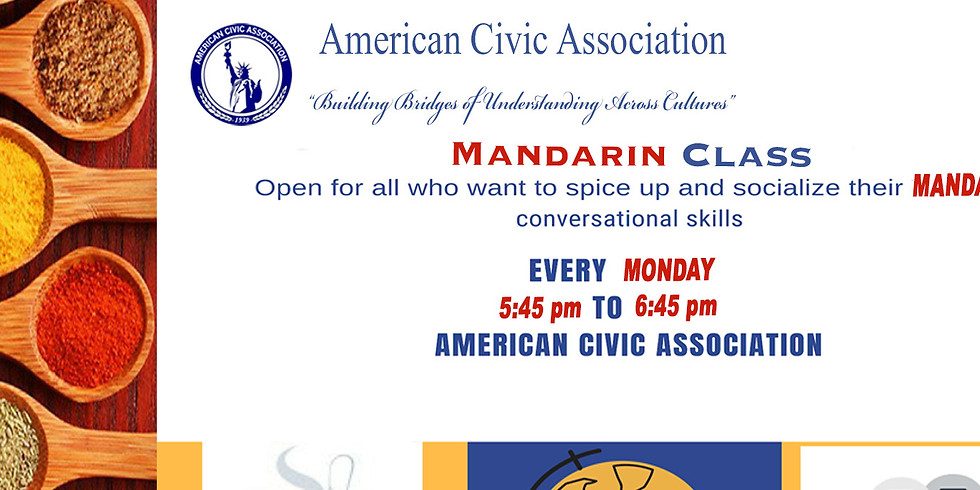Mandarin Classes