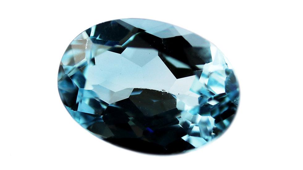 天然石 ルースストーン(裸石) ブルートパーズ 7.503ct (3-7)