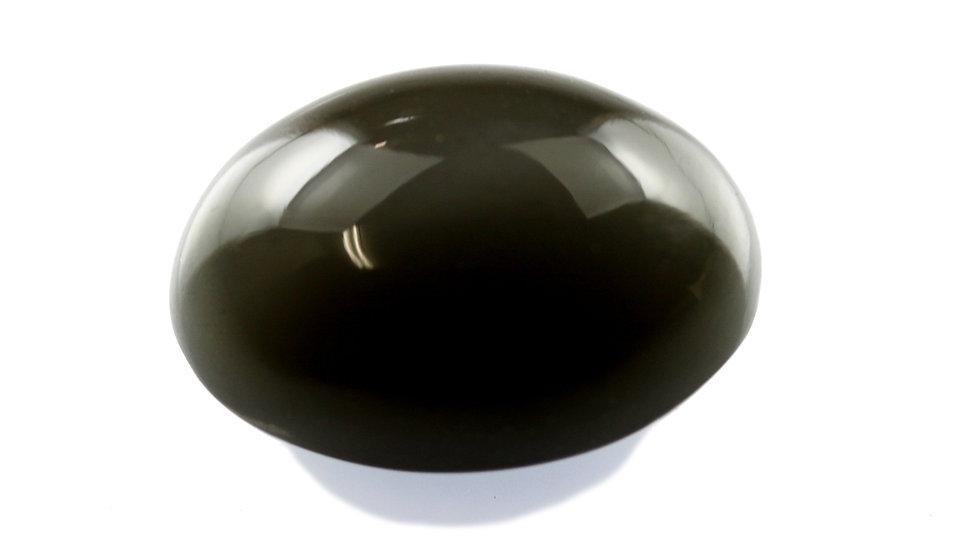 天然石 ルースストーン(裸石) グレーキャッツアイムーンストーン 13.75ct (3-17)