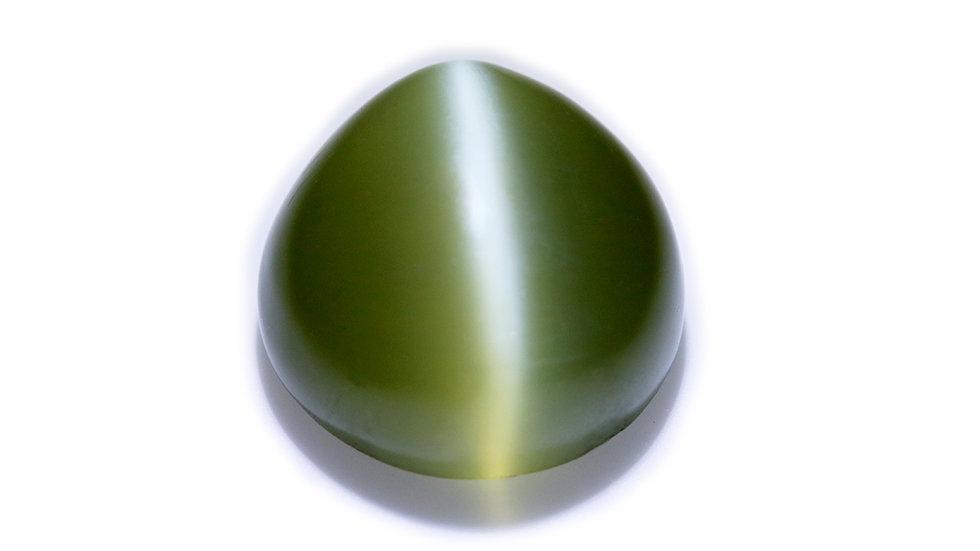 天然石 ルースストーン(裸石) ネフライト・キャッツアイ 13.0ct (3-10)
