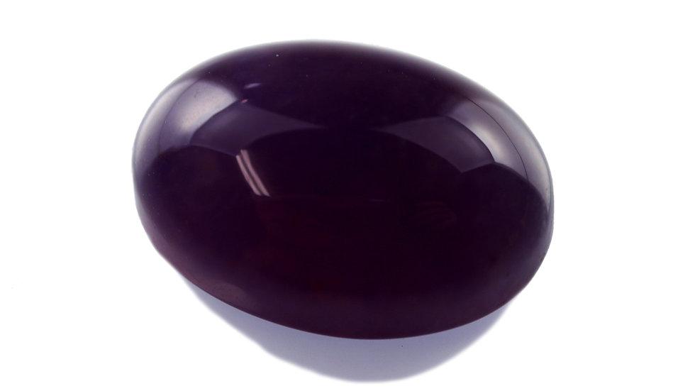 天然石ルースストーン(裸石) バイオレットカルセドニー 12.9ct (3-2)