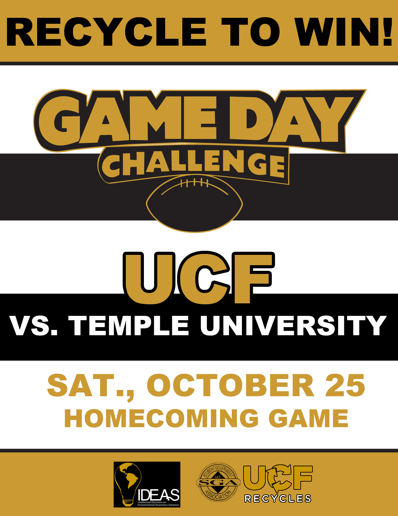 UCF Game Day Challenge 2014