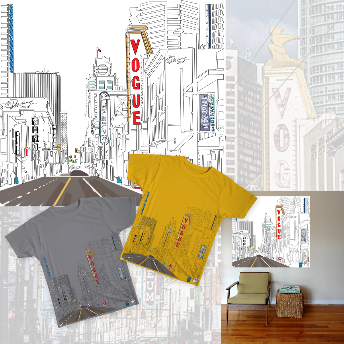 Vancouver Oneliner Apparel