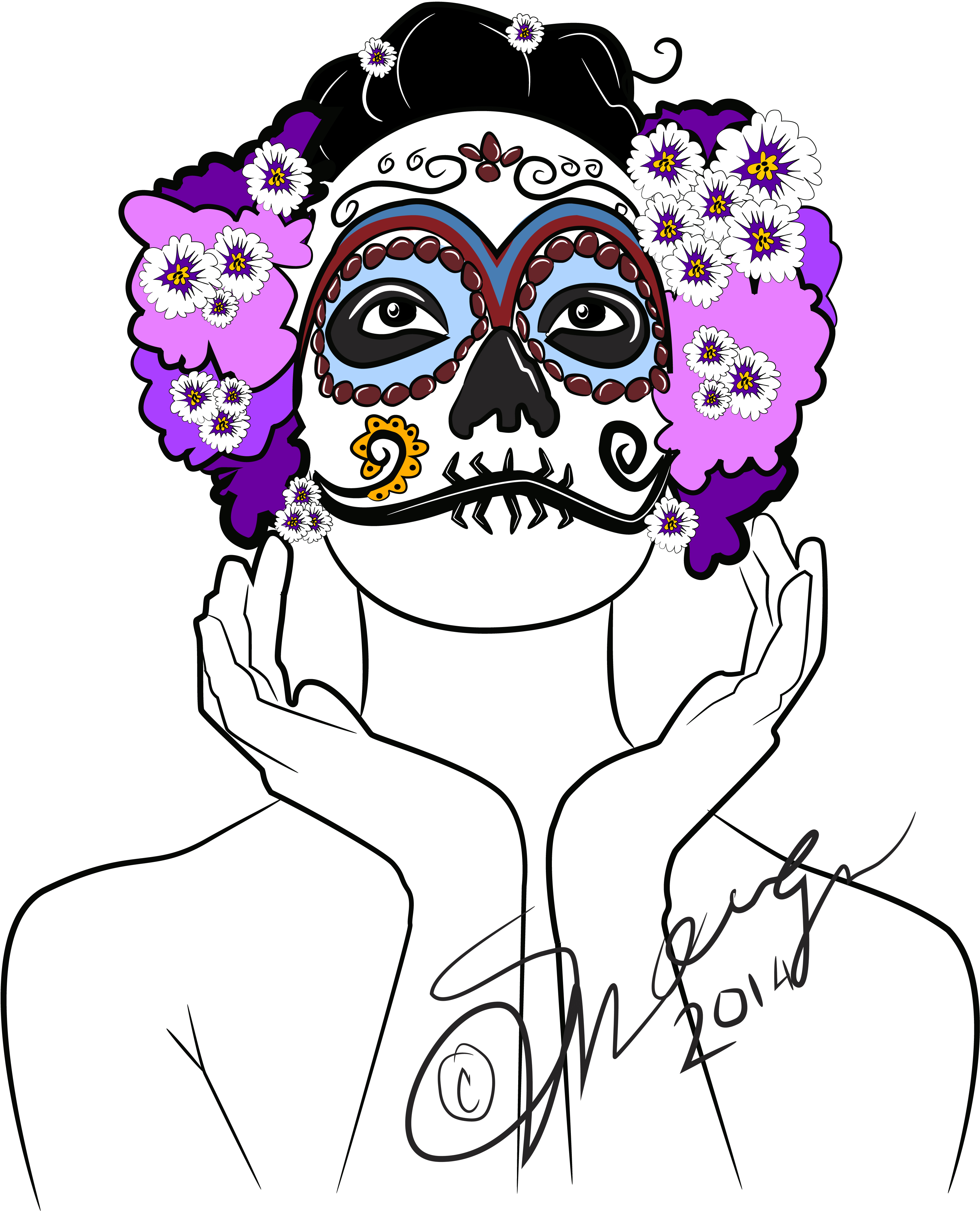Day of the day mask 01