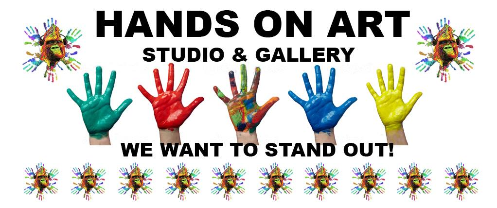 Hands On Art Banner