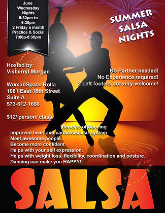 Salsa Summer Night Lesson / Socials