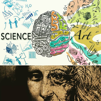 ART IN SCIENCE - HOMESCHOOL 1/2 BUNDLE OF 4