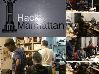 Traveling MAKERS Hack Manhattan!