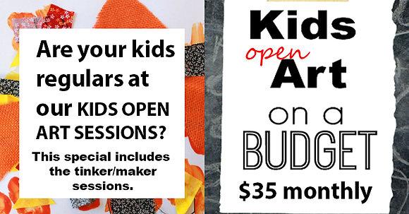 Kids Open Art Session