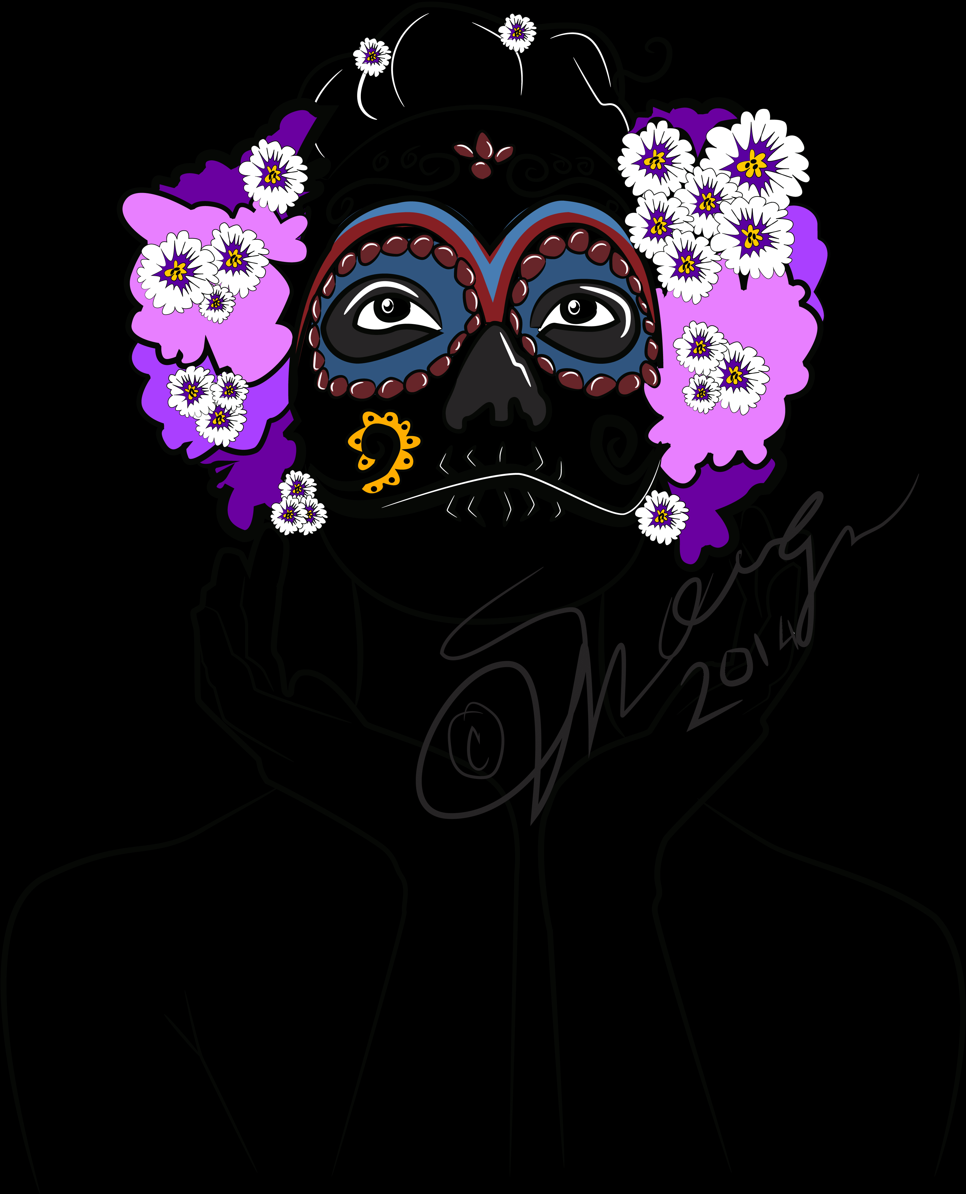 Day of the day mask 02