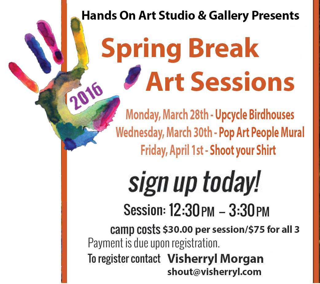 Hands On Art Spring Break Session