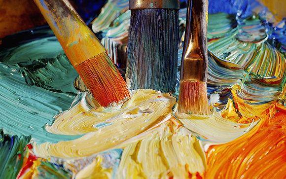 Adult Acrylic Paint & Sip