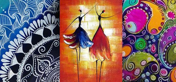 STONECREST DANCE -BYOB Paint & Sip