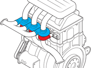 Ford Engineer Designs An Engine With Turbocharger For Each Cylinder