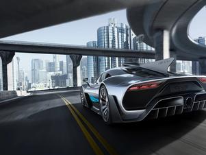 Mercedes-AMG reveals 1,000bhp, 217mph 'Project One' road-legal F1 car