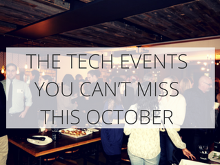 The tech events you can't miss this October
